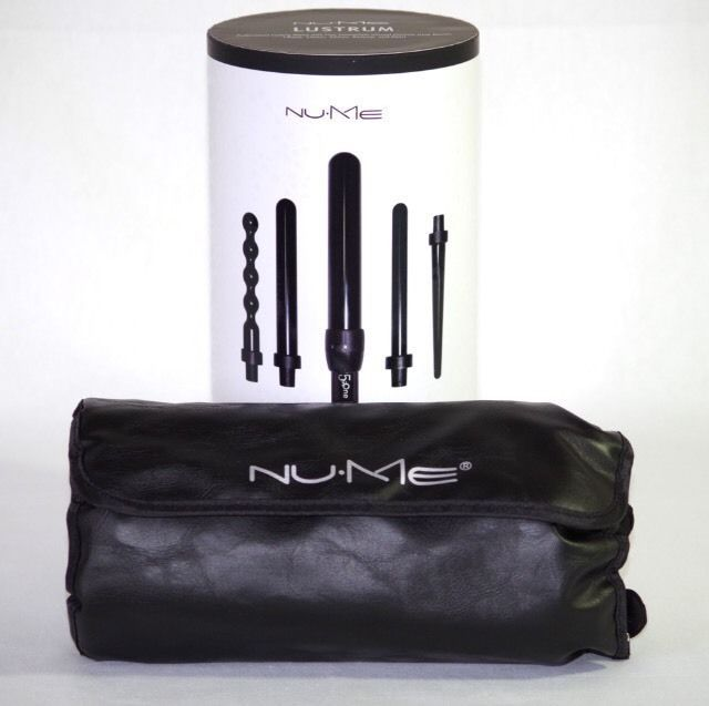 New NuMe Lustrum 5-Barrel Curling Wand Set With Glove  | eBay