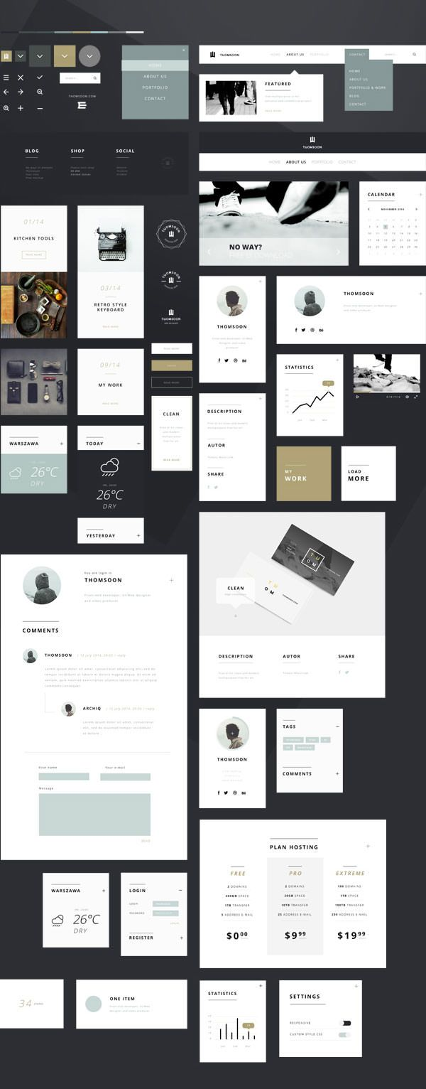 https://www.behance.net/gallery/21169935/55-Elements-FREE-UI-KIT-Clean-white-DOWNLOAD