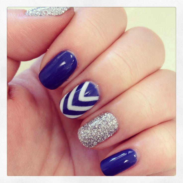 Gel Polish Nail Designs: 25+ Best Ideas About Chevron Manicure On Pinterest