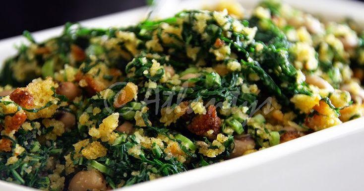 Ingredientes   200gr. de couves para caldo verde (já migadas)   200gr. de broa de milho (já triturada na picadora ou robot de cozinha) ...