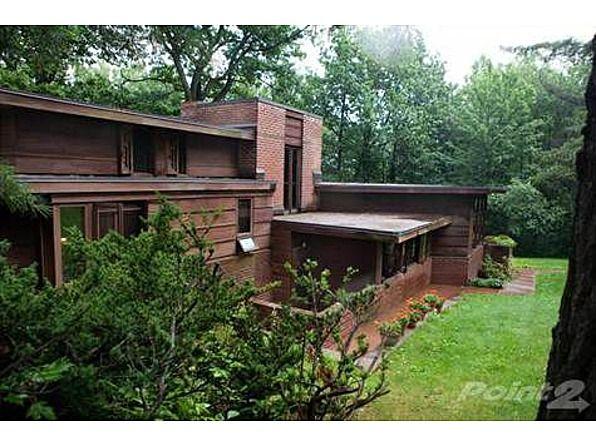 Charles L Manson House Usonian Style Frank Lloyd Wright