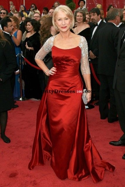 Georges Chakra inspired dress for Hellen Mirren in 2008 Oscars. $169 USD + Shipping cost. Wedding Palace too: $159 USD + Shipping cost.