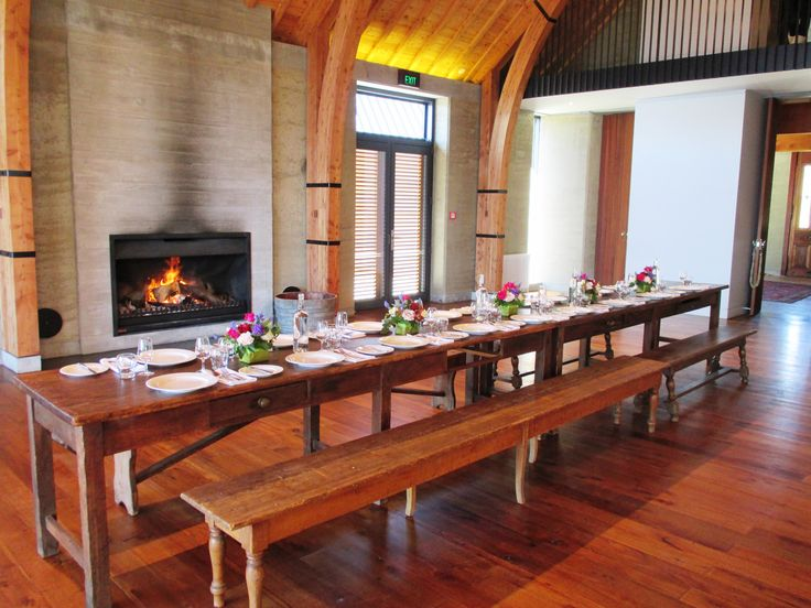 Winter corporate lunch at The Rippon Hall, Lake Wanaka