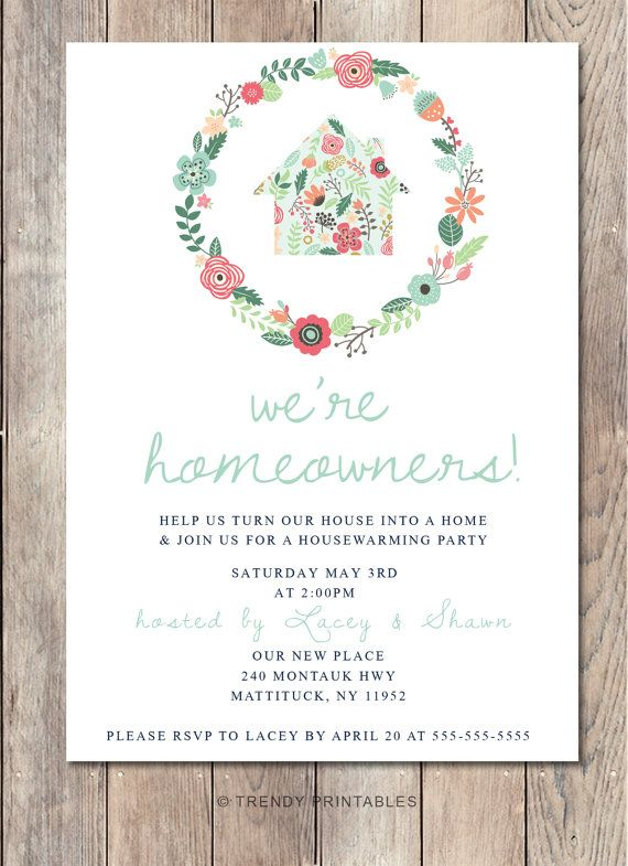 Best 25+ Housewarming party invitations ideas on Pinterest - housewarming invitation template