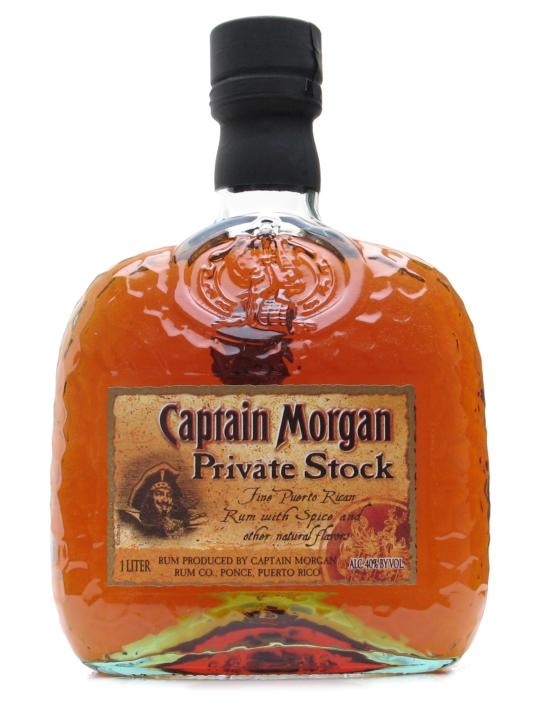Captain Morgan Private Stock.