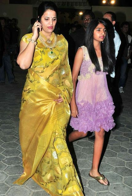 Sarees At Allu Arjun Wedding function | Saree Blouse Patterns