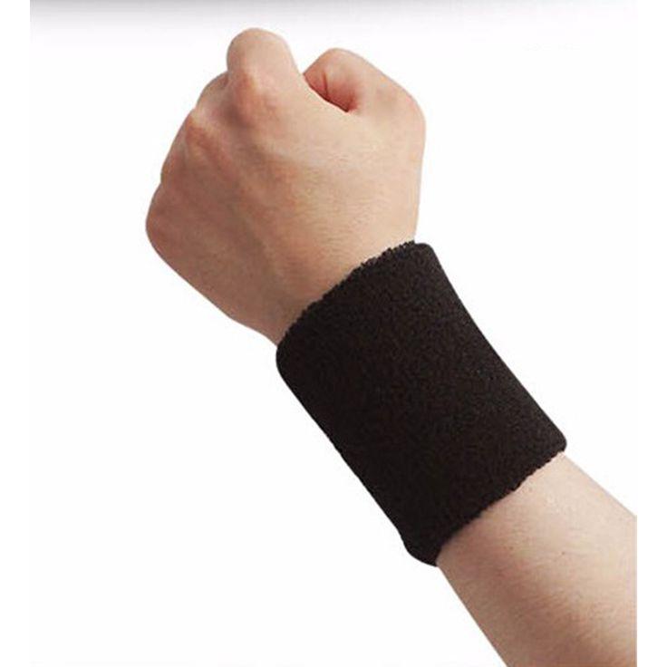 15*8 см Спандекс Браслеты Спортивные Wweatband Hand Band для Тренажерный Зал Волейбол Теннис Сб наручные Поддержки Брейс Обертывания