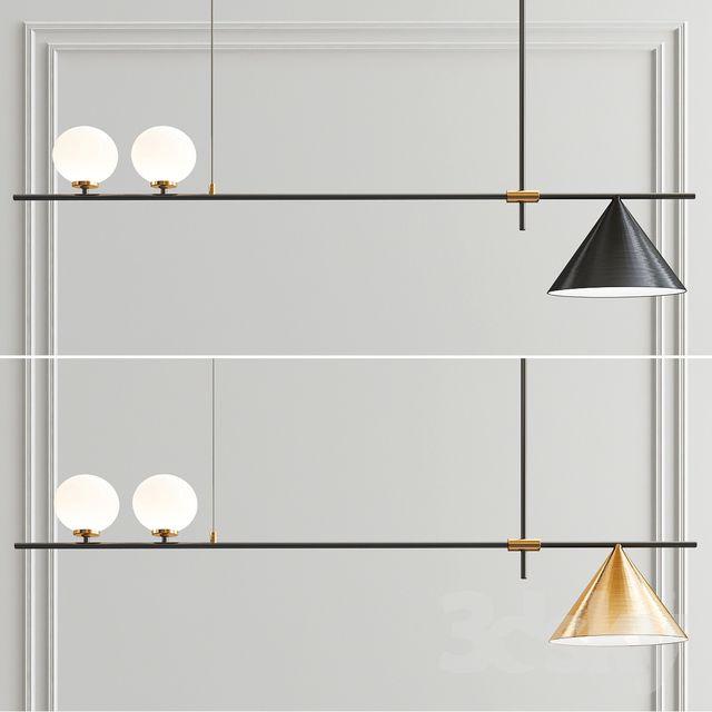 3d Models Ceiling Light Scandinavian Style Minimalist