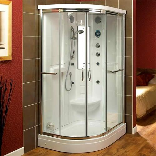 Steam Showers For Some Home Spa Like Luxury: Steam Shower Unit Installation