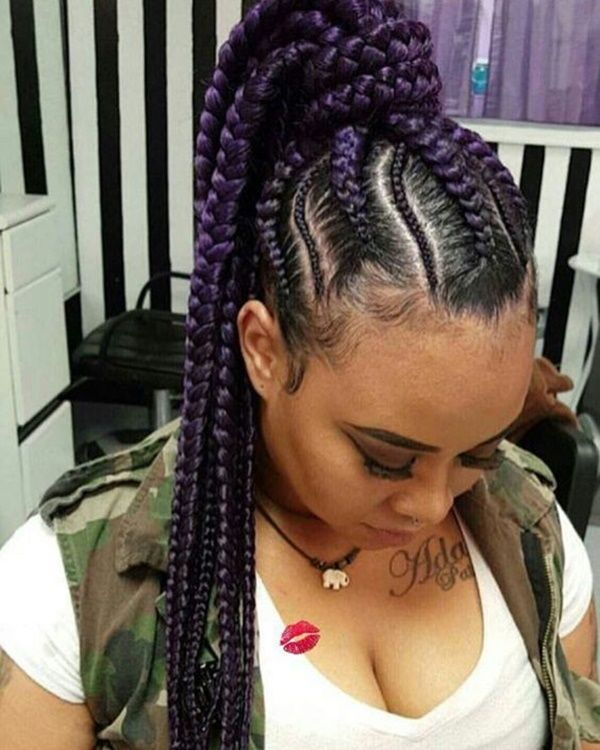 hair style braided best 25 feeder braids ideas on feeder braids 4564