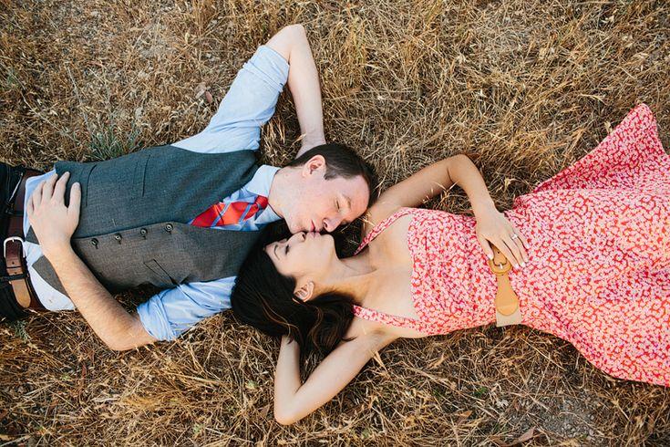 Malibu Hills Engagement Session: Josie + Daniel by Marianne Wilson Photography