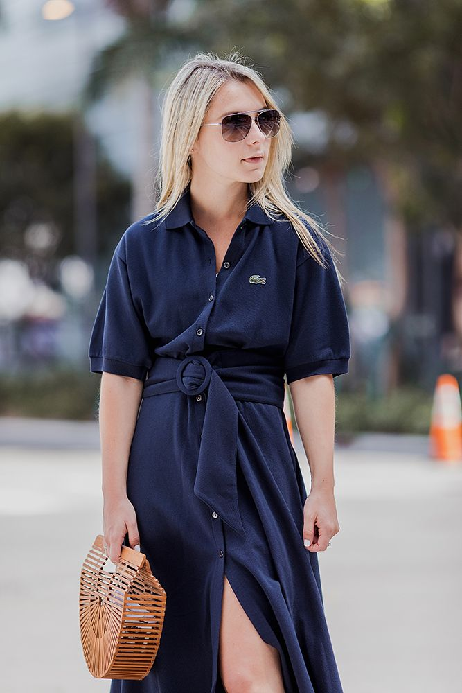 58bbf60f47 Miami Open with LACOSTE | On the Blog | Polo dress outfit, Summer ...