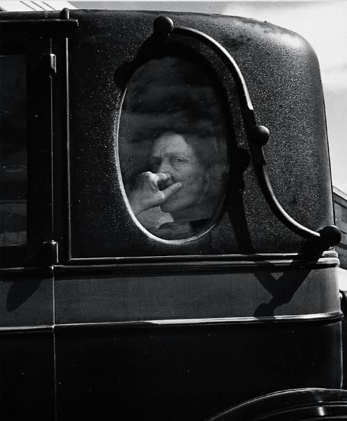 Dorothea Lange - Funeral Cortege, End of an Era in a Small Valley Town, California, 1938 #photography