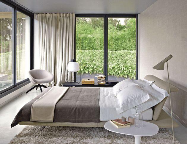 Quartos modernos com grandes janelas ~ Decoração e Ideias - casa e jardim