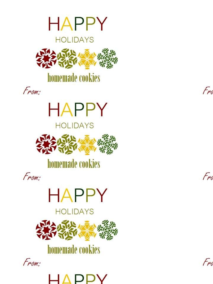 Happy Holidays Label Templates Free Holiday Labels Free Printable Christmas Gift Tags Holiday Label Templates