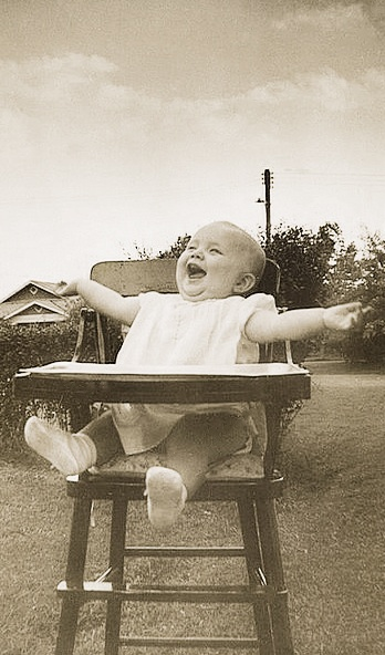 peaceful and joy...what a laughter!