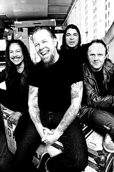 Metallica - tê-los visto várias vezes entre 1992 e agora. Kirk Hammett é um guitarrista excelente. http://www.guitarandmusicinstitute.com