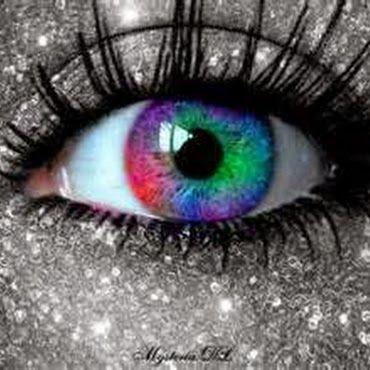 Man - Rainbow Eyes