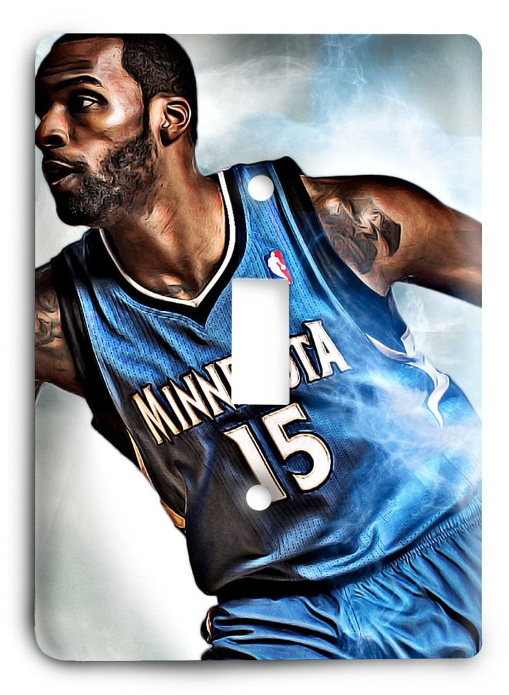 Shabazz Muhammad Timberwolves Light Switch Cover