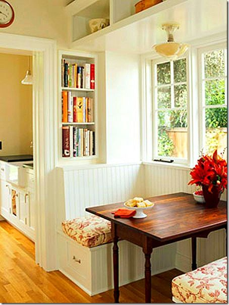 banquette: Window, Breakfast Nooks, Built In, Small Places, Kitchens Nooks, Breakfast Area, Small Spaces, Dining Nooks, Kitchens Booths