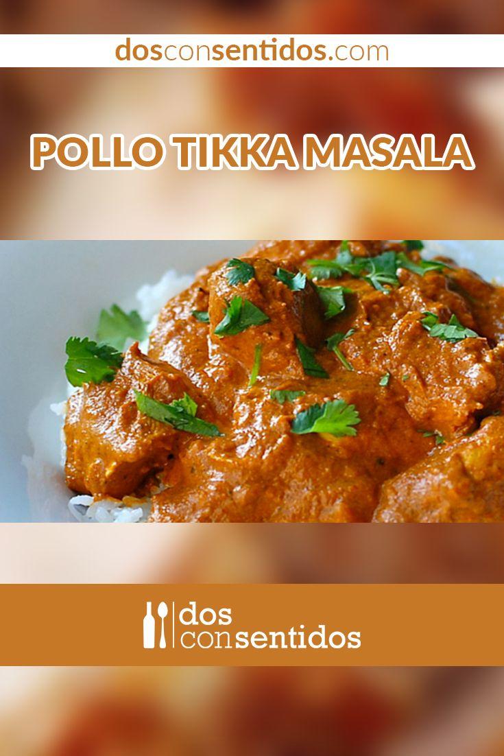 El pollo Tikka Masala es un plato del suroeste asiático, y es uno de los más populares en todo el mundo. Es tan común y popular en el Reino Unido, que un ex ministro lo catalogo como el verdadero plato nacional de Gran Bretaña. No hay lugar donde no se haya escuchado su nombre, y no puede faltar en los restaurantes con temas asiáticos.