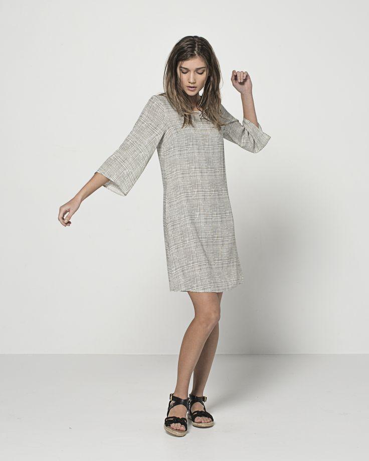 Lena Lounge Dress (Chalk)