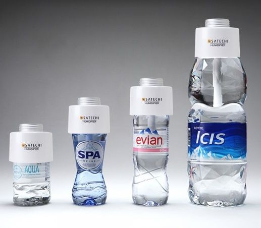 Satechi USB Portable Humidifier Turns Water Bottle into Humidifier bottoles