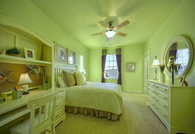 Girl's bedroom -- Darling Homes model at Tucker Hill