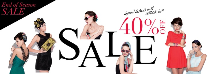 Happy New Year!! To Thank You our fans for continues supporting, we are offering 40% discount off online. Special SALE until stock last! Don't miss out the great deal and great chances!     Happy Shopping at www.evitaperoni.com/Sale
