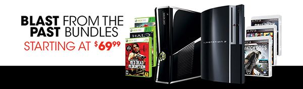 GAME OF THE WEEK Pro Members get Free Value Shipping on Blast From The Past Bundles at GameStop.com!  Shop Bundles Such As: The Xbox 360 20GB Refurbished Blast from the Past System Family Bundle Includes: Xbox 360 System - White with Wireless Controller (Pre-Owned Refurbished), Xbox 360 20GB Hard Drive (Pre-Owned Refurbished), LEGO Batman, LEGO Indiana Jones TO BUY CLICK ON LINK BELOW http://tomatovisiontv.wix.com/tomatovision2#!video-games/c1zzn