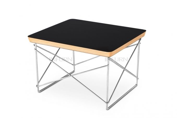 Eames ltr side table black 79€ 50-luku