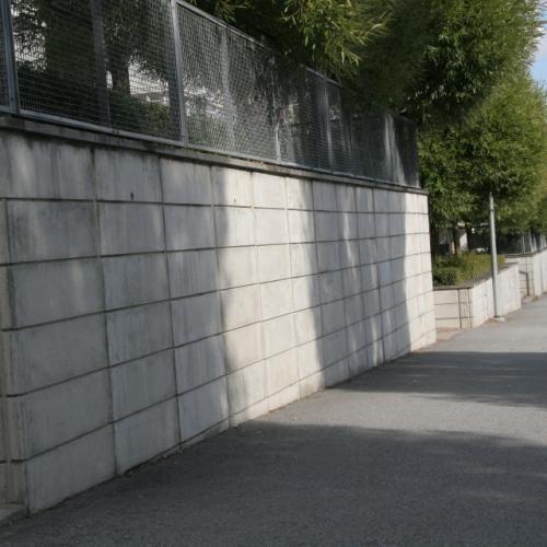 L-stöd till stödmurar, murar, terrassering