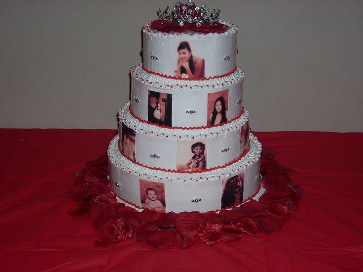 Quinceanera Cake La Quinceanera
