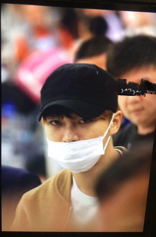 Kim Jaejoong  Bkk FM Asia Tours Thailand airport to Seoul