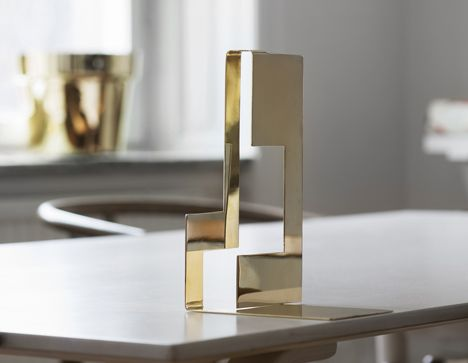 Swedish designers Claesson Koivisto Rune, Monica Förster and Folkform collaborated with 400-year-old fine metals company Skultuna to produce this collection of brass objects.