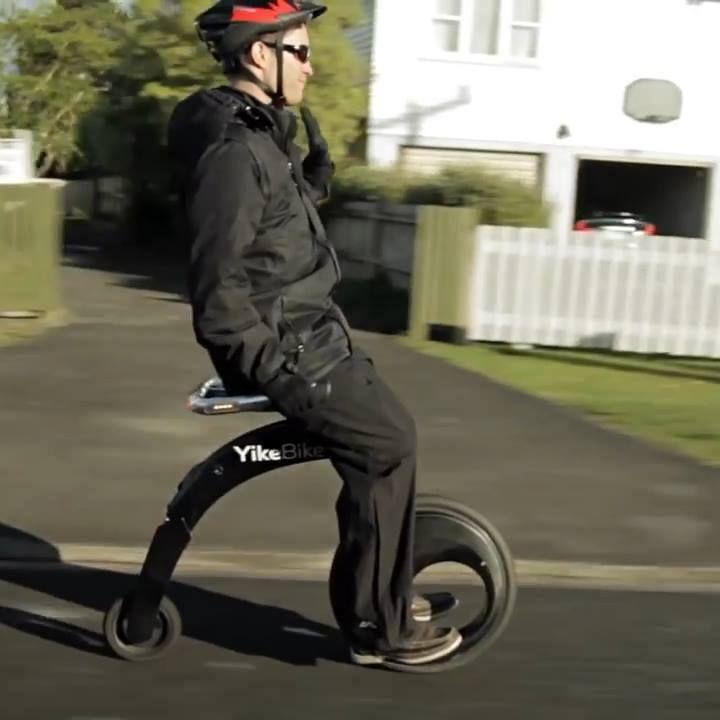 Yike BIke Super Light Folding Electric Bike #peoplebazar