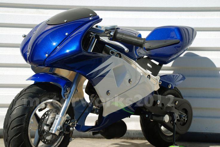 28 best pocket bikes images on pinterest motorbikes. Black Bedroom Furniture Sets. Home Design Ideas