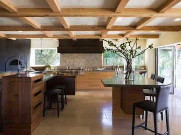 Orinda Japanese Country Kitchen - eclectic - kitchen - san francisco - Mueller Nicholls Cabinets and Construction