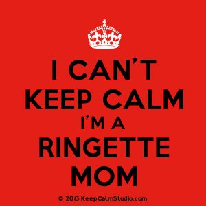 'I Can't Keep Calm I'm A Ringette Mom' design on t-shirt, poster, mug and many other products » Keep Calm Studio