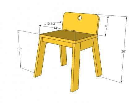 I want to make this!  DIY Furniture Plan from Ana-White.com  Build your own modern kids chairs inspired by Land of Nod Mojo Chair . Free easy plans that will cost you about $5 per chair to make!