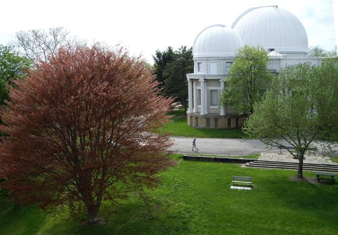 This 259-acre park offers something for everyone. Hikers, bikers, and runners can enjoy the deeply wooded trails, while residents can also enjoy a swimming pool, playground, ball field, and even horseback riding.  One of the landmarks at the park is the Allegheny Observatory, a major astronomical research institution, owned by the University of Pittsburgh. You may also notice the Chapel Shelter, which after a restoration completed in 2008, now allows for a great picnic spot.