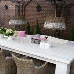 Tafel-tafels-brocante-sfeervolle meubels-meubelen-landelijk-interieur-salontafel-brocante-sidetable-landelijke-sidetable-brocante-eettafel-l...
