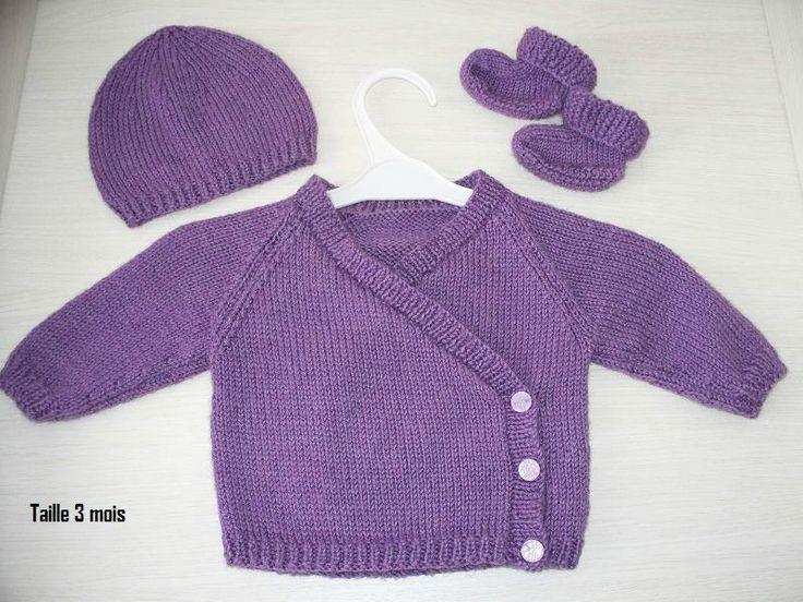 modeles gratuit tricot bebe