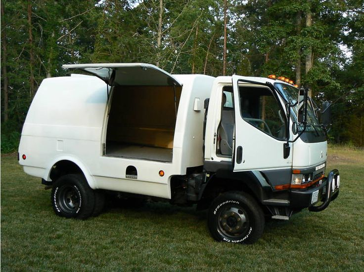 mitsubishi truck 4x4 - Google Search | Campers & Caravans ...