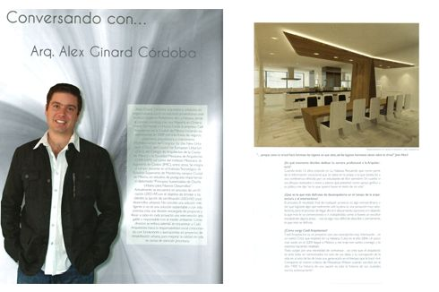 Interview to Mr. Ginard - urbanist and architect - principal and founder at Caeli Arquitectos, Mexico DF - 2013