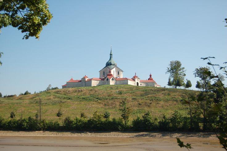 J. B. Santini - Zelená Hora - Žďár n. Sázavou, UNESCO, foto Jan Valer