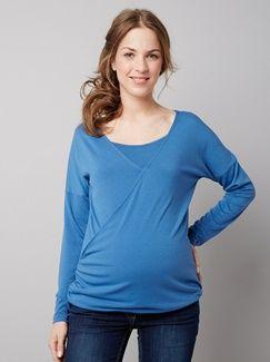 T-shirt + débardeur d'allaitement manches longues  - vertbaudet enfant