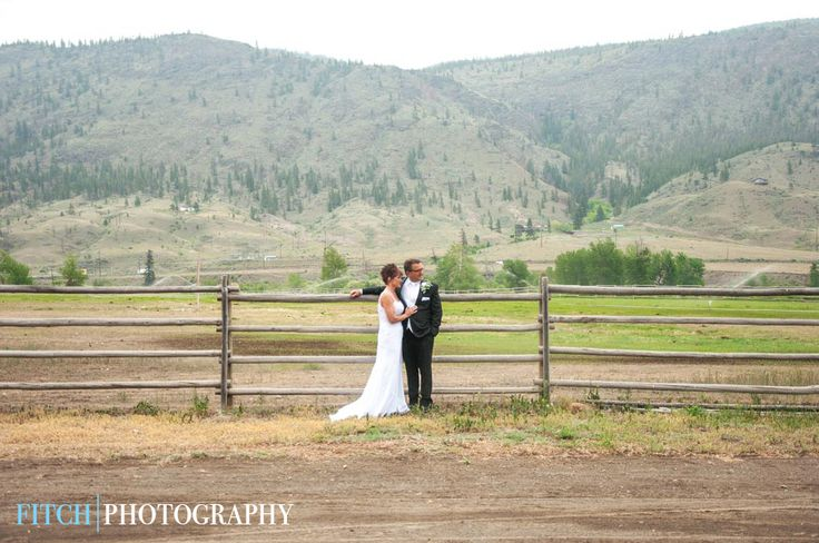 Hat Creek Ranch wedding in Cache Creek, BC. Perfect spot for a rustic, country wedding!   Fitchphotography.com