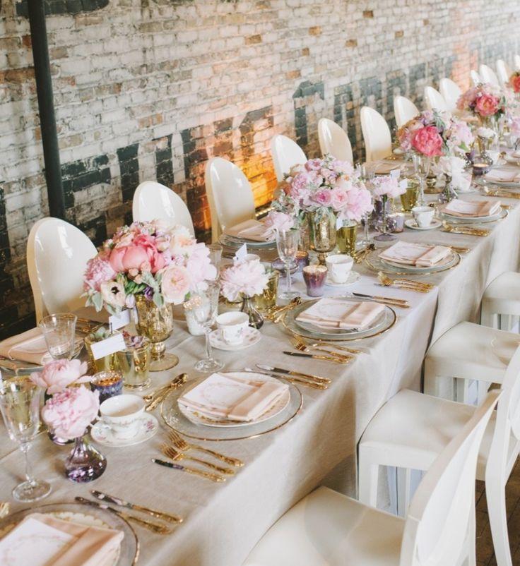 Gold Wedding Reception: Elegant And Glamorous Gold Wedding Reception Ideas