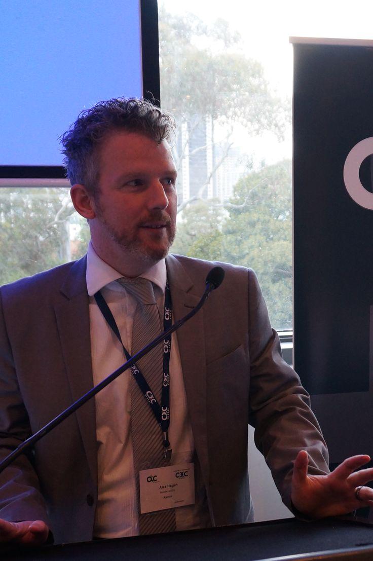 Alex Hagan, Founder & CEO, Kienco at #CWF2014